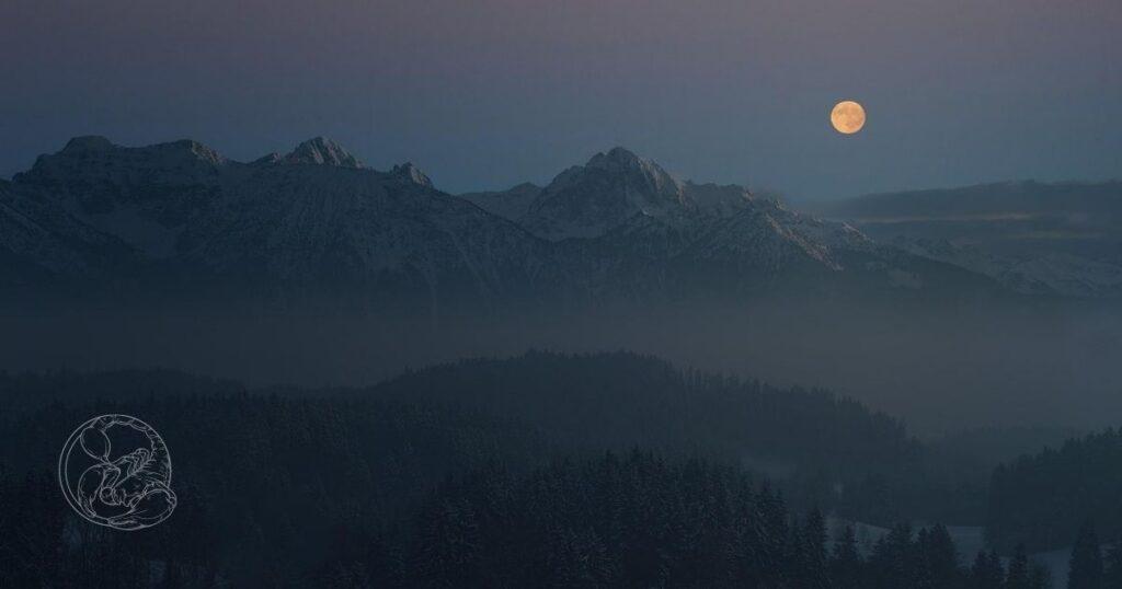 Meditatie en Activatie Volle Maan in Schorpioen